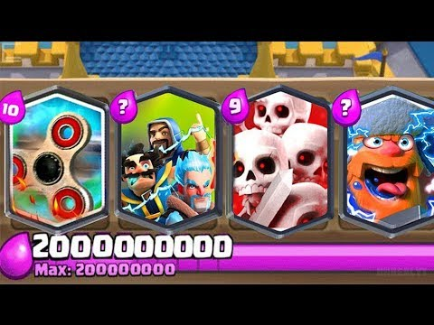 """BEST Clash Royale Private Server! """"Rocket Royal Giant"""" Card, Three Sparky Megaknight & MORE!"""