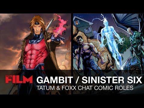 Channing Tatum on X-Men role, and Jamie Foxx talks Sinister Six