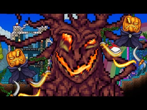 LARGEST MOURNING WOOD!! - Terraria: Epic Modpack SE2 - Part 91 - Expert Mode - 동영상