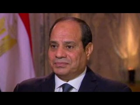 President El-Sisi on Middle East peace plans