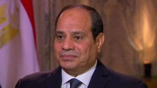 President El Sisi on Middle East peace plans