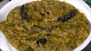 how to make gongura pappu/how to prepare sorrel leaves dal