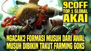 Hal Yang Gw Pelajari Dari Top 1 Global AKAI SCOFF • Mobile Legends Indonesia