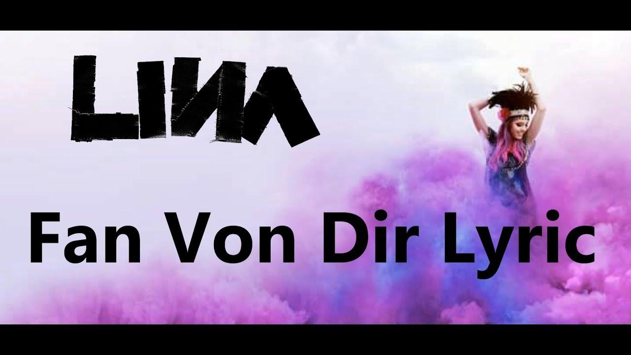 LINA Fan Von Dir Lyric :)