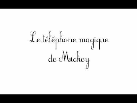 Le téléphone magique de Mickey