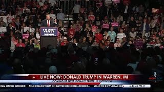 Full Speech: Donald Trump Rally in Warren, MI 10/31/16