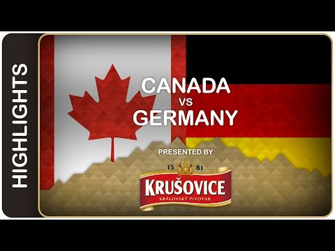 Canada upends Germany for win - Canada-Germany HL - #IIHFWorlds 2016 - 동영상