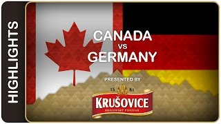Canada upends Germany for win | Canada-Germany HL | #IIHFWorlds 2016