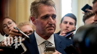 How Jeff Flake forced a delay on Brett Kavanaugh's nomination