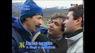Cámara oculta a Diego y José María con Francella - Videomatch 98