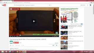 como descargar the amazing spiderman 2 para android 2015 tutorial