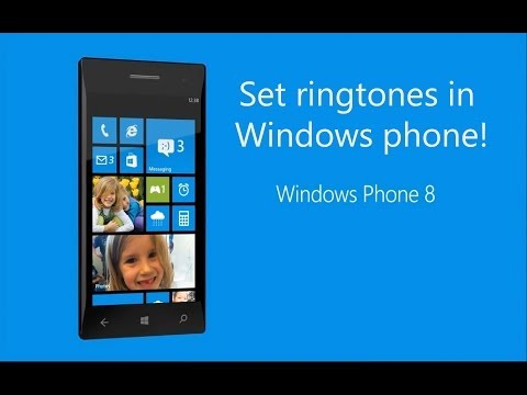How to set a ringtones in windows phone nokia lumia 520 , 720 , 920 ,1020 and HTC one ?