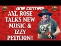 Guns N' Roses News: Axl Rose Talks New Music & Izzy Stradlin Petition!