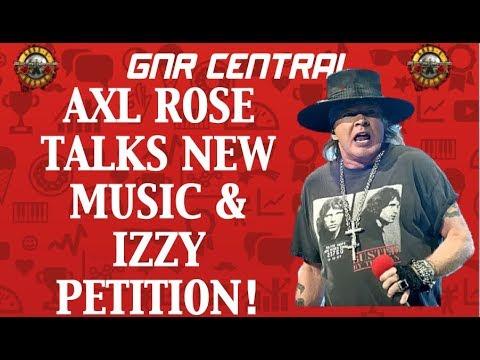 Guns N' Roses News: Axl Rose Talks New Music & Izzy Stradlin Petition! Mp3