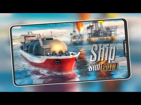 Lançou Novo Simulator Realista para Android & iOS -  Ship Sim 2019 (DOWNLOAD)