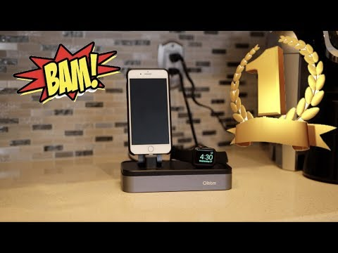 The Best Charging Dock for Apple Watch & iPhone