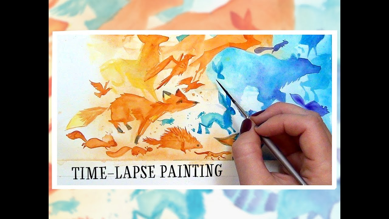 all good things timelapse painting youtube