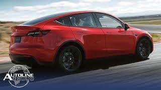 Tesla Raises Model Y Price, In-Car Pizza Ordering - Autoline Daily 2560