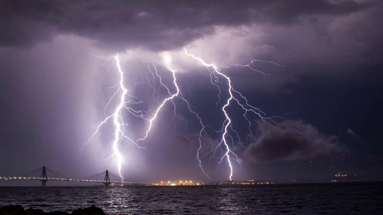 Καταιγίδες, Ρίο Αχαΐας 6 & 7 Ιουλίου 2020
