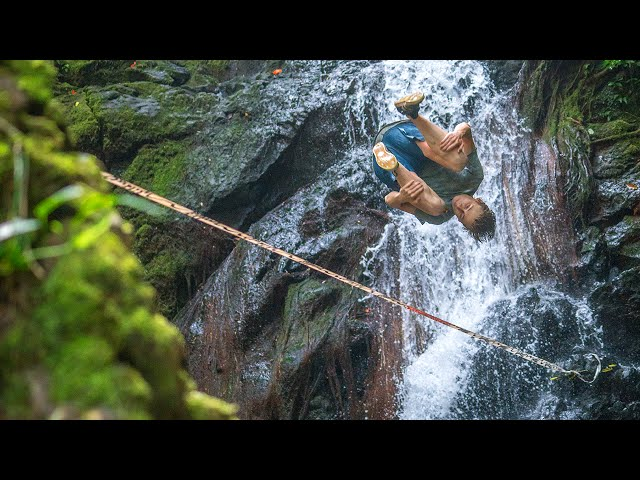 Slackladder: Alex Mason Takes on 8 Slacklines in the Hawaiian Jungle