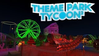 Roblox Theme Park Tycoon | Building A Halloween Park | Stream #1 | CAUSE I'M THE BOOGIE MAN!!