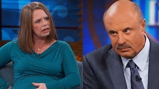 """I'm 3 Years Pregnant"" Woman Claims on Dr Phil - React Couch"