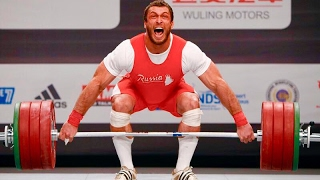 Dmitry Klokov - Olympic Weightlifting Motivation