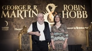 George R. R. Martin & Robin Hobb - EXCLUSIVE EVENT!