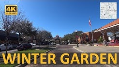 Driving around Winter Garden, Florida (4k)