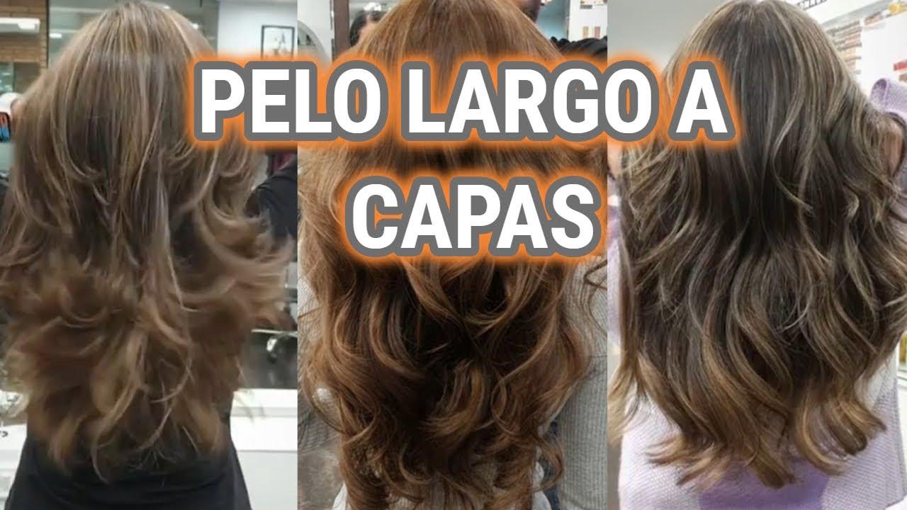 Cortes De Pelo Largo A Capas 2020 Melenas Escaladas Desfiladas Beauty Makeup Youtube