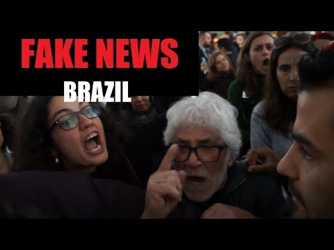 Deliberate Fake News - Union Protest - Porto Alegre - Brazil