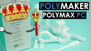 The King of 3D printing materials? Polymaker PolyMax PC REVIEW