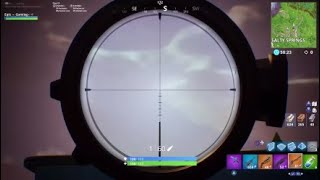 Fortnite 204m mid air head shot!