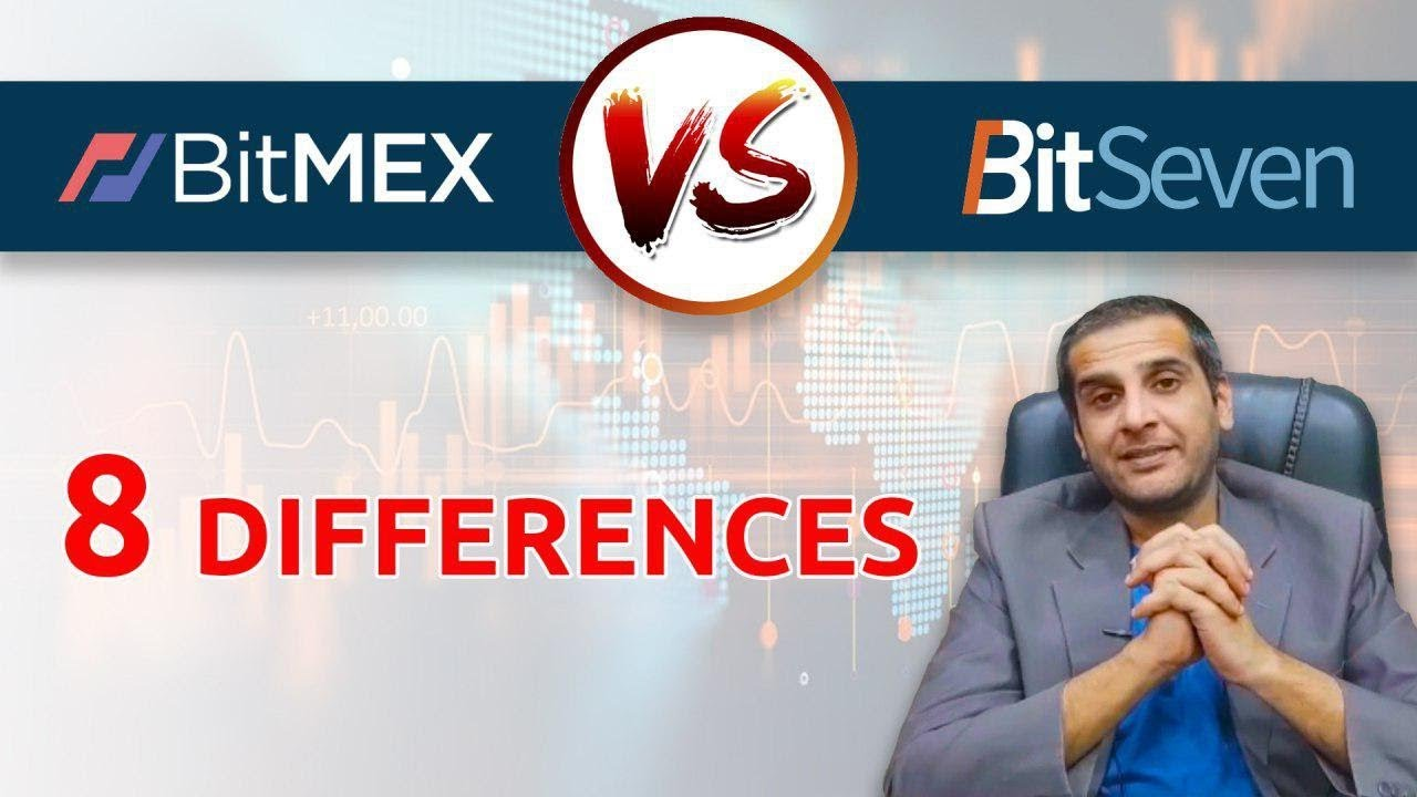 BITMEX vs BITSEVEN  8 differences of cryptocurrency trading platforms