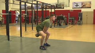 Marines Force Fitness-Kettlebell Swing