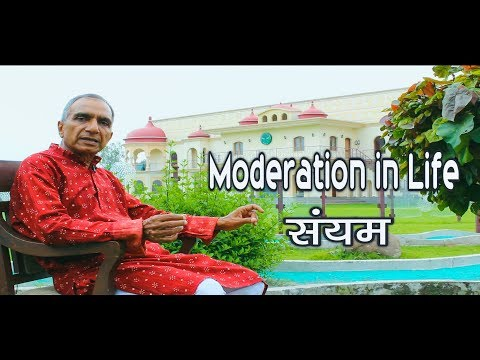 Amar Chandel | Moderation in Life | Holistic Healing | Hindi