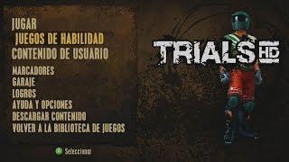 Trials HD -Skill Games/Juegos de Habilidad- (Gameplay) [Xbox 360]