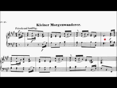 Con Brio Exam (CBE) Grade 4 Schumann Op.68 No.17 Little Morning Wanderer Sheet Music