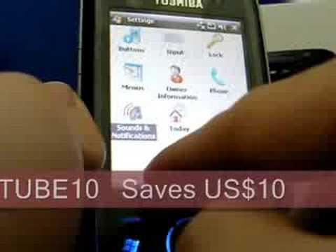 Toshiba G810 Quadband 3G HSDPA GPS Unlocked Phone
