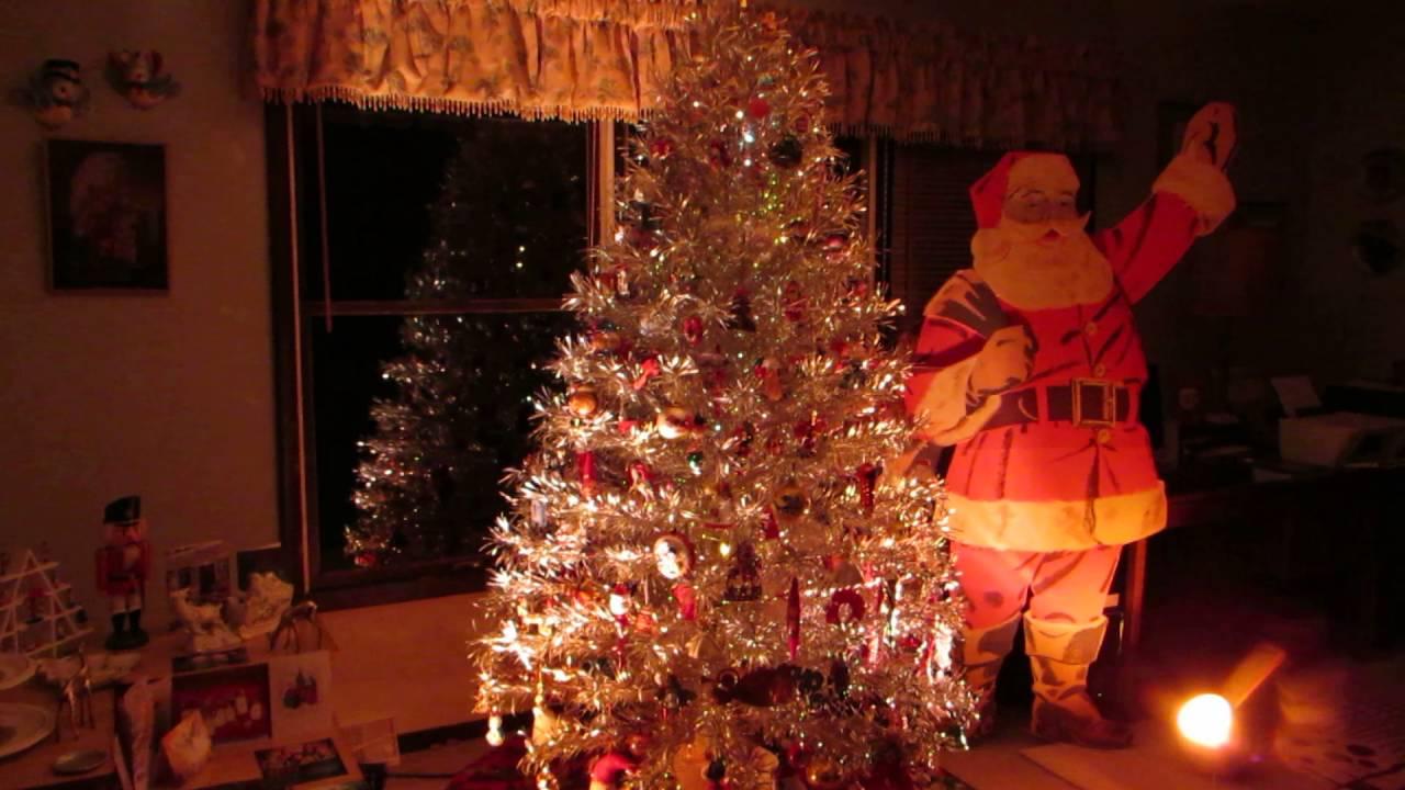 Retro Silver Christmas Tree 2015 - YouTube