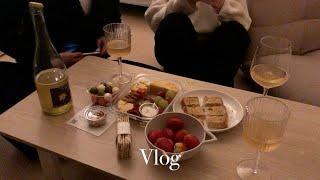 자취Vlog) 네버엔딩 원룸 인테리어와 홈파티: 방꾸미…