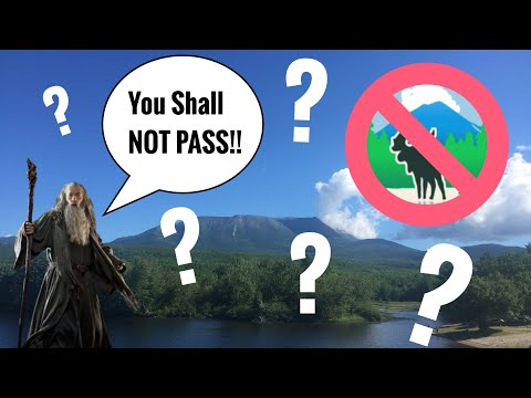 Q&A ~ What Happens If Baxter State Park Hits Their Thru-Hiker Permit Quota? (S2 Ep6)