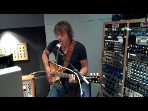 Richie Sambora in the studio with Heaven & Earth