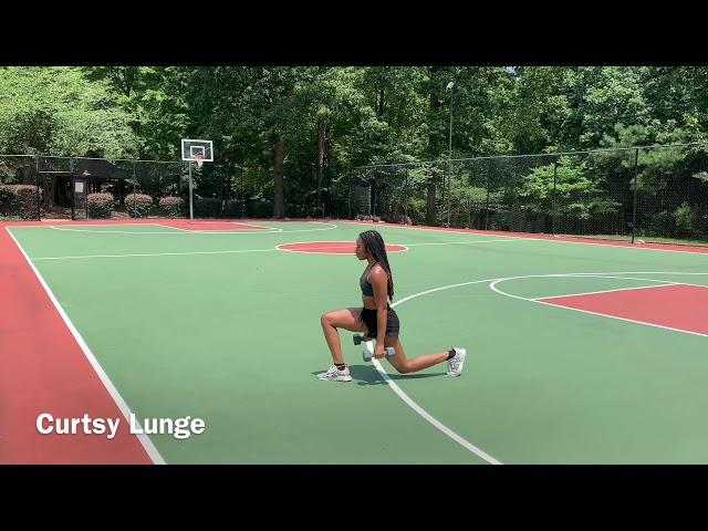 Curtsy Lunge