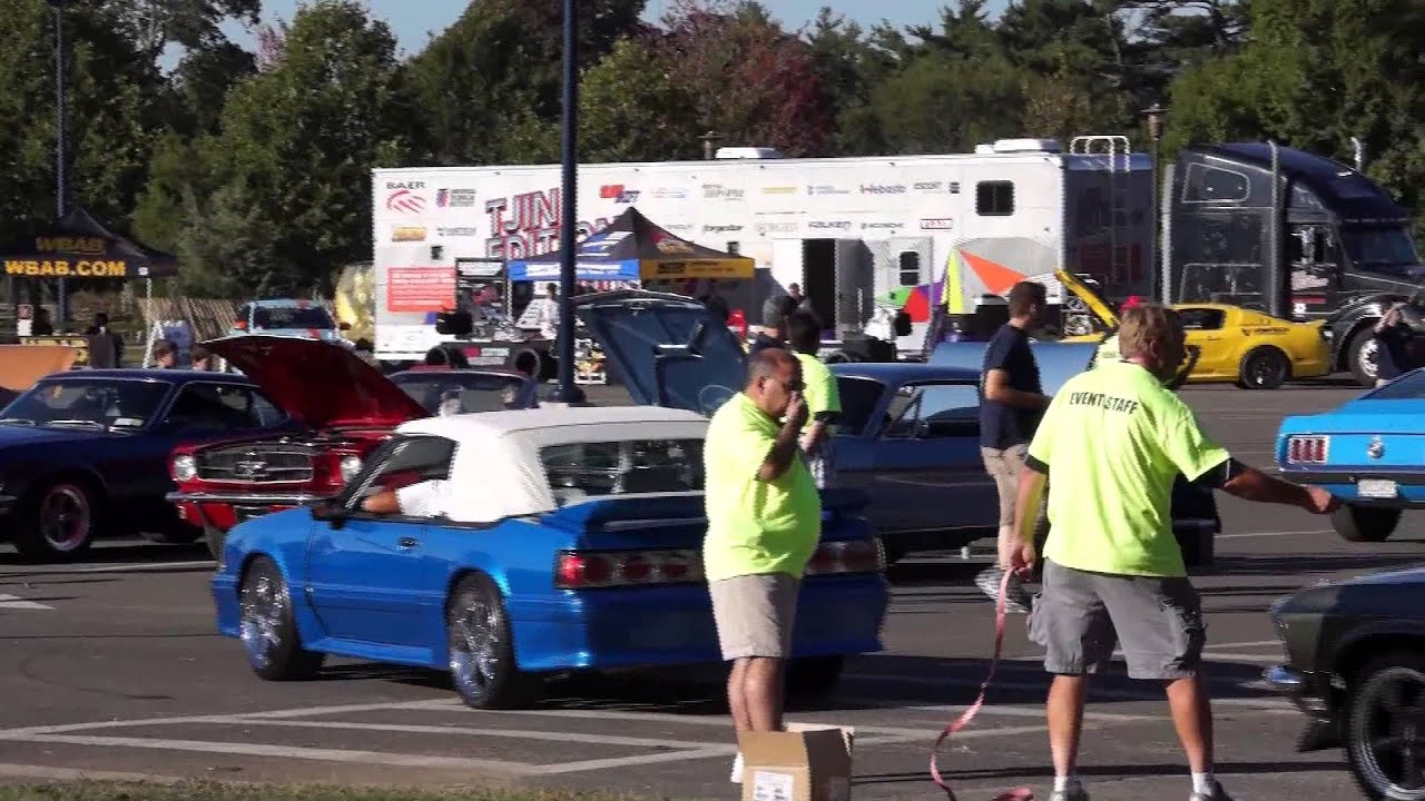 Mustangs In Eisenhower Park Car Show YouTube - Eisenhower park car show
