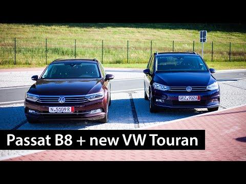 VW Touran Highline для семьи и Passat B8 Comfortline для души /// Пригон авто из Германии