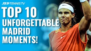 Top 10 Unforgettable Moments From the Madrid Open!