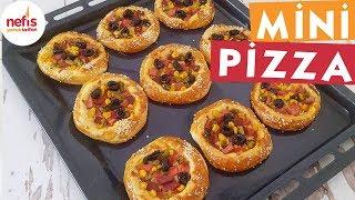 Tereyağlı Mini Pizza - Pizza Tarifleri - Nefis Yemek Tarifleri