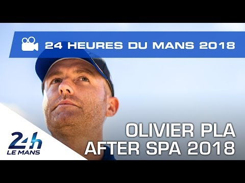 Olivier Pla after 2018 6 Hours of Spa-Francorchamps