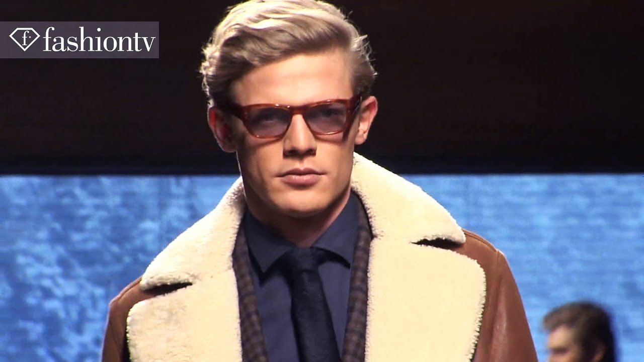 1b21eb46 A Winter's Tale: Ermenegildo Zegna Fall/Winter 2012/13 Show - Milan Men  Fashion Week | FashionTV FTV